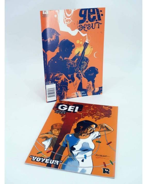 Cubierta de GEI DEBUT / VOYEUR (Xavier Morell / Félix Ruiz / Victor Santos) Recerca 2004