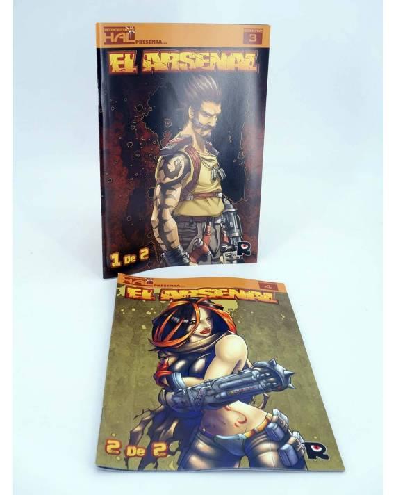 Cubierta de HAL 3 Y 4. EL ARSENAL 1 Y 2 COMPLETA (Sarvador Vázquez / Daniel Pérez Sánchez) Recerca 2006