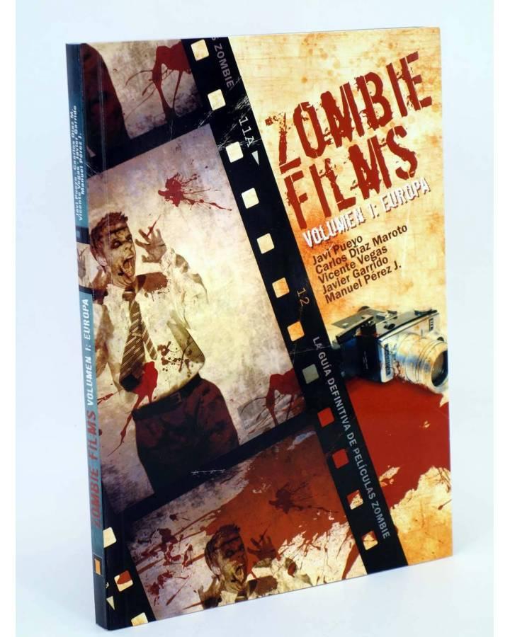 Cubierta de ZOMBIE FILMS 1. EUROPA (Pueyo Díaz Maroto Vegas Garrido Perez) Dolmen 2011