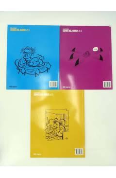 Contracubierta de LAS CARTAS SOBRE LA MESA 1 A 3. COMPLETA (By Manuel Vázquez) Glenat 1997