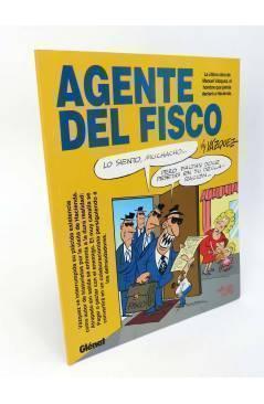 Cubierta de GENIOS DEL HUMOR 2. AGENTE DEL FISCO (By Manuel Vázquez) Glenat 1997