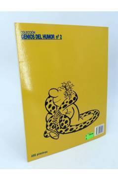 Contracubierta de GENIOS DEL HUMOR 2. AGENTE DEL FISCO (By Manuel Vázquez) Glenat 1997