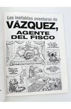 Muestra 2 de GENIOS DEL HUMOR 2. AGENTE DEL FISCO (By Manuel Vázquez) Glenat 1997