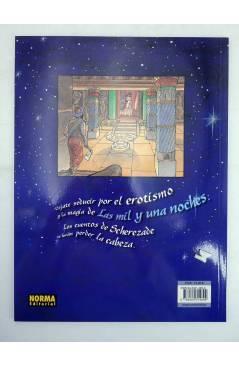 Contracubierta de CIMOC EXTRA COLOR 187. LAS MIL Y UNA NOCHES (Eric Maltaite) Norma 2002