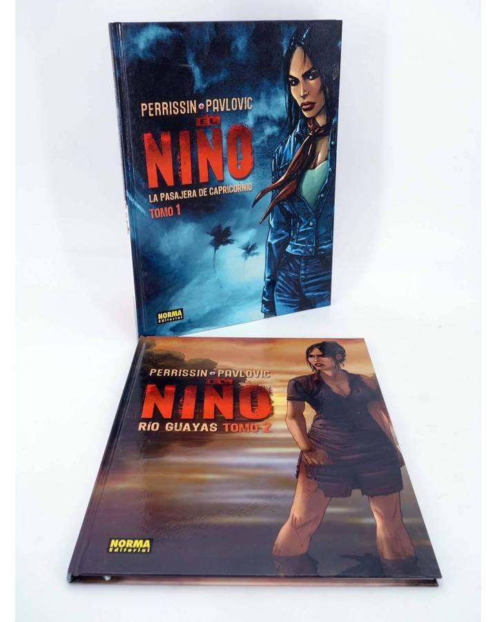 Cubierta de EL NIÑO 1 Y 2. COMPLETA (Perrisin / Paulovic) Norma 2004