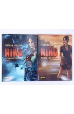 Contracubierta de EL NIÑO 1 Y 2. COMPLETA (Perrisin / Paulovic) Norma 2004