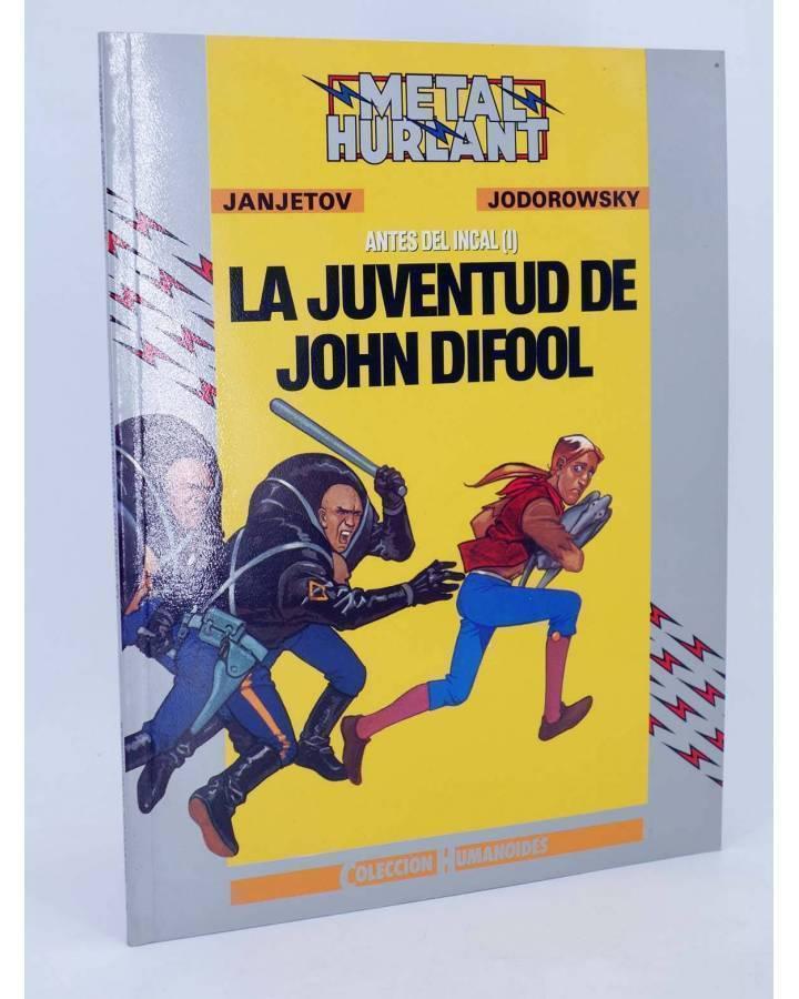 Cubierta de ANTES DEL INCAL I. LA JUVENTUD DE JOHN DIFOOL (Jodorowsky / Janjetov) Eurocomic 1990