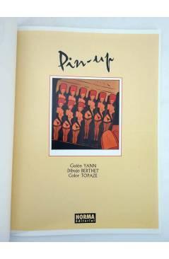 Muestra 2 de CIMOC EXTRA COLOR 141. PIN UP 1 (Berthet / Yann) Norma 1997