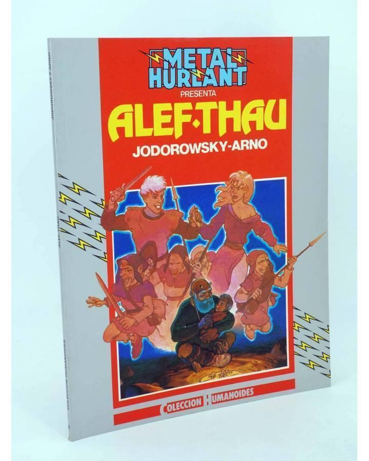 Cubierta de COL. HUMANOIDES 16. LAS AVENTURAS DE ALEF THAU 1 (Jodorowsky / Arno) Eurocomic 1994