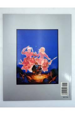 Contracubierta de COL. HUMANOIDES 16. LAS AVENTURAS DE ALEF THAU 1 (Jodorowsky / Arno) Eurocomic 1994