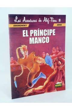Cubierta de LAS AVENTURAS DE ALEF THAU 2 II. EL PRINCIPE MANCO (Jodorowsky / Arno) Norma 2000