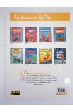 Contracubierta de LAS AVENTURAS DE ALEF THAU 2 II. EL PRINCIPE MANCO (Jodorowsky / Arno) Norma 2000
