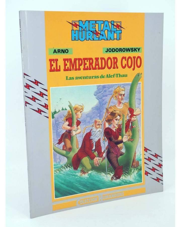 Cubierta de LAS AVENTURAS DE ALEF THAU 5. EL EMPERADOR COJO (Jodorowsky / Arno) Eurocomic 1990