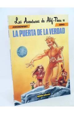 Cubierta de LAS AVENTURAS DE ALEF THAU 7. LA PUERTA DE LA VERDAD (Jodorowsky / Arno) Norma 1995
