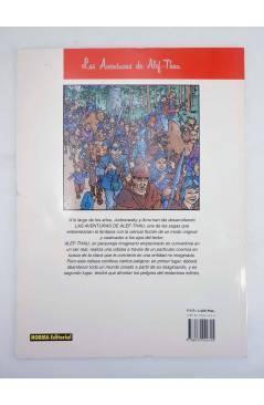 Contracubierta de LAS AVENTURAS DE ALEF THAU 7. LA PUERTA DE LA VERDAD (Jodorowsky / Arno) Norma 1995