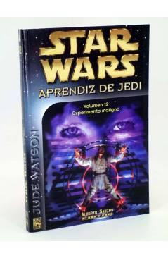 Cubierta de STAR WARS APRENDIZ DE JEDI 12. EXPERIMIENTO MALIGNO (Jude Watson) Alberto Santos 2003