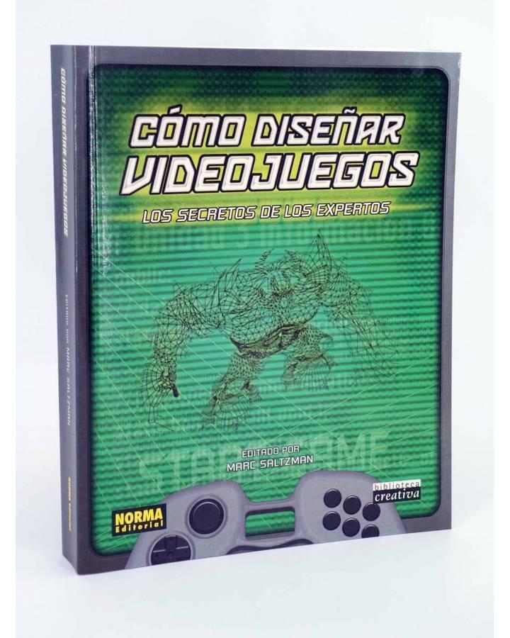 Cubierta de COMO DISEÑAR VIDEOJUEGOS. LOS SECRETOS DE LOS EXPERTOS (Marc Saltzman) Norma 2002