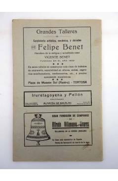 Muestra 1 de REVISTA CORREO INTERIOR JOSEFINO 321. COLEGIOS DE SAN JOSÉ. NOVIEMBRE (Mosen Sol) Colegio de San José 1923