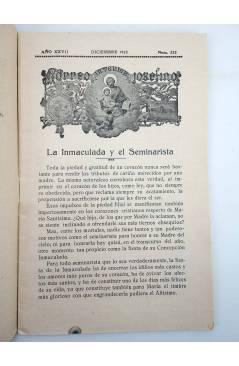 Muestra 1 de REVISTA CORREO INTERIOR JOSEFINO 322. COLEGIOS DE SAN JOSÉ. DICIEMBRE (Mosen Sol) Colegio de San José 1923