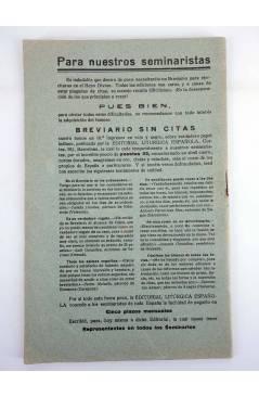 Muestra 1 de REVISTA CORREO INTERIOR JOSEFINO 353. COLEGIOS DE SAN JOSÉ. JULIO (Mosen Sol) Colegio de San José 1926