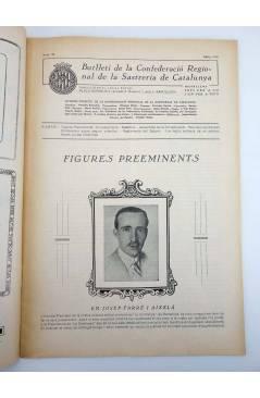 Muestra 3 de BOLETÍN DE LA CONFEDERACIÓN REGIONAL DE LA SASTRERÍA DE CATALUÑA 29. MASONERÍA. MAYO 1934. MODA (Vvaa) 1934