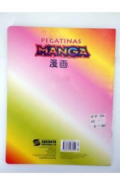 Contracubierta de PEGATINAS MANGA. CON 33 PEGATINAS MULTIUSO 3. SIN USO (No Acreditado) Susaeta 1997