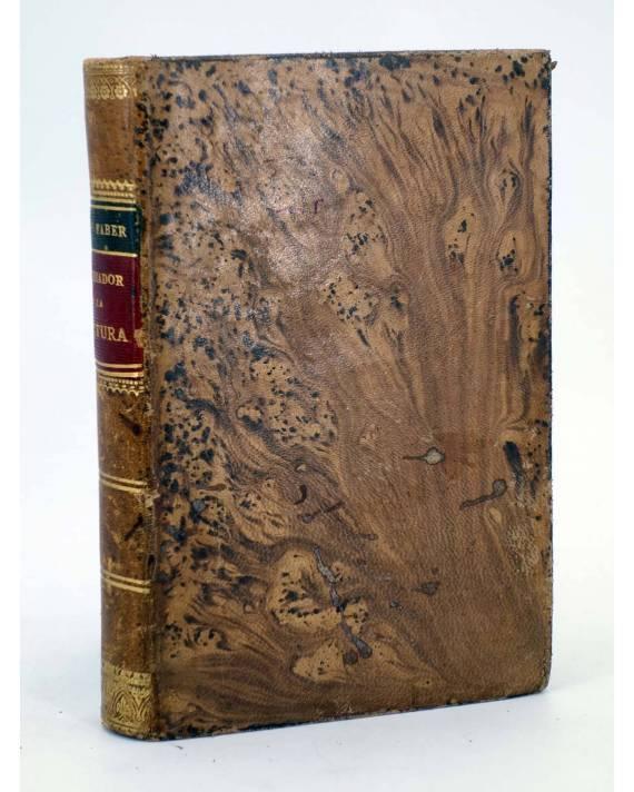 Cubierta de EL CRIADOR Y LA CRIATURA O LAS MARAVILLAS DEL AMOR DIVINO (F. Guillermo Faber) Leocadio López 1882