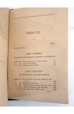 Muestra 3 de EL CRIADOR Y LA CRIATURA O LAS MARAVILLAS DEL AMOR DIVINO (F. Guillermo Faber) Leocadio López 1882