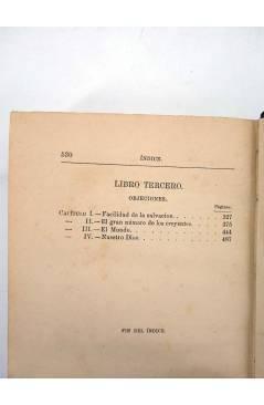 Muestra 4 de EL CRIADOR Y LA CRIATURA O LAS MARAVILLAS DEL AMOR DIVINO (F. Guillermo Faber) Leocadio López 1882