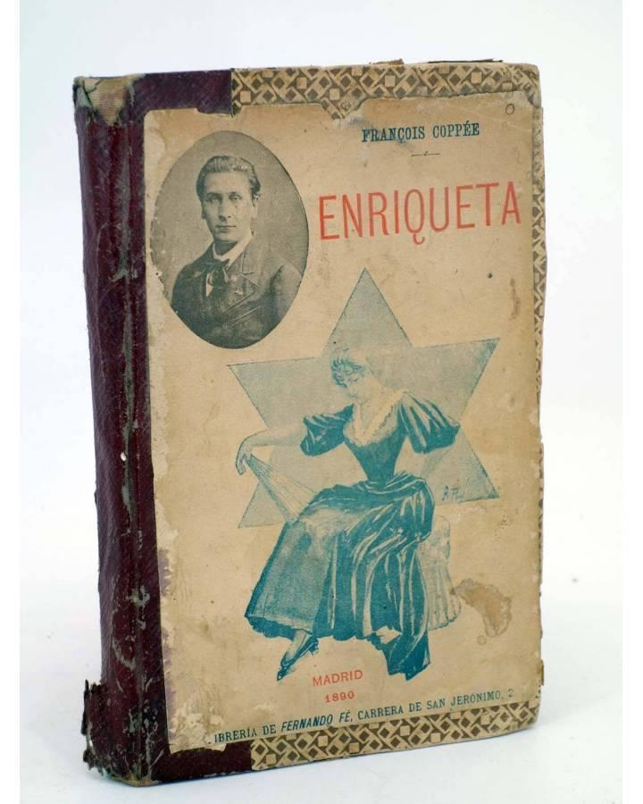 Cubierta de ENRIQUETA (Fraçois Coppee) Fernando Fe 1890
