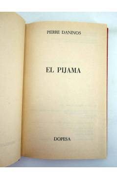 Muestra 1 de NN NOVELA NÍVOLA 1. EL PIJAMA (Pierre Daninos) Dopesa 1973