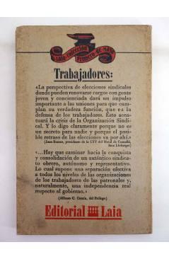 Muestra 1 de LAS ELECCIONES SINDICALES. CUESTIONES PRÁCTICAS PARA LA LUCHA (Eduardo Martín / Jesús Salvador) Laia 1975
