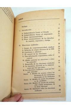 Muestra 2 de LAS ELECCIONES SINDICALES. CUESTIONES PRÁCTICAS PARA LA LUCHA (Eduardo Martín / Jesús Salvador) Laia 1975