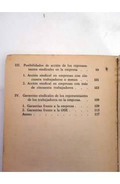 Muestra 3 de LAS ELECCIONES SINDICALES. CUESTIONES PRÁCTICAS PARA LA LUCHA (Eduardo Martín / Jesús Salvador) Laia 1975