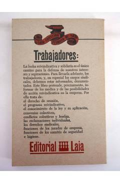 Muestra 1 de COLECCIÓN PRIMERO DE MAYO 5. LOS ENLACES SINDICALES (Eduardo Martín / Jesús Salvador) Laia 1976