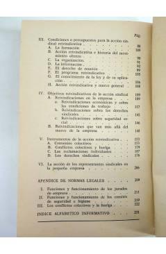 Muestra 3 de COLECCIÓN PRIMERO DE MAYO 5. LOS ENLACES SINDICALES (Eduardo Martín / Jesús Salvador) Laia 1976
