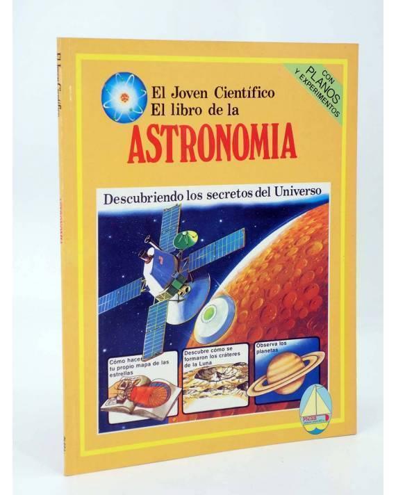 Cubierta de EL JOVEN CIENTÍFICO. EL LIBRO DE LA ASTRONOMÍA. AMARILLO (Vvaa) Plesa 1978