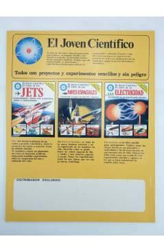 Contracubierta de EL JOVEN CIENTÍFICO. EL LIBRO DE LA ASTRONOMÍA. AMARILLO (Vvaa) Plesa 1978