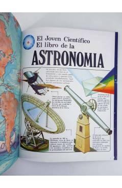 Muestra 3 de EL JOVEN CIENTÍFICO. EL LIBRO DE LA ASTRONOMÍA. AMARILLO (Vvaa) Plesa 1978