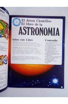 Muestra 4 de EL JOVEN CIENTÍFICO. EL LIBRO DE LA ASTRONOMÍA. AMARILLO (Vvaa) Plesa 1978