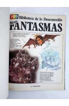 Muestra 1 de BIBLIOTECA DE LO DESCONOCIDO 2. TODO SOBRE FANTASMAS (Vvaa) Plesa 1981