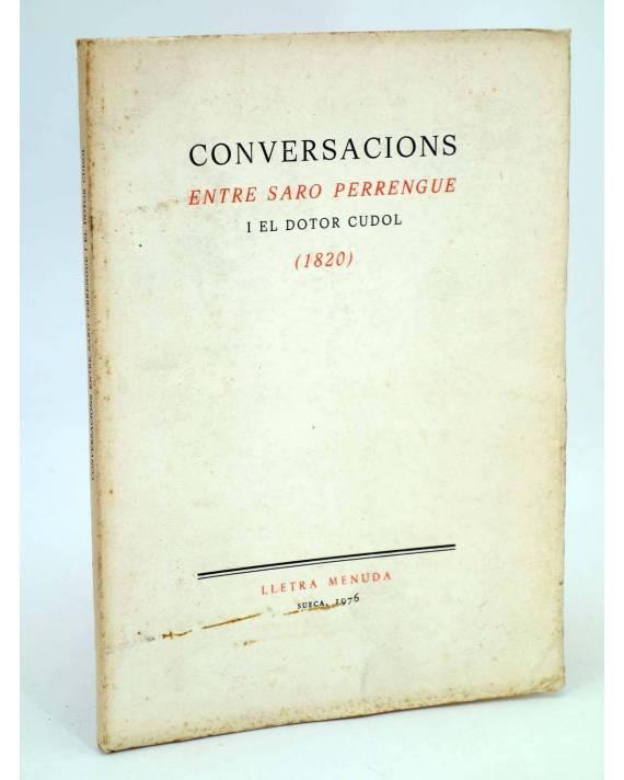 Cubierta de LLETRA MENUDA 11. CONVERSACIONS ENTRE SARO PERRENGUE I EL DOTOR CUDOL 1820 (No Acreditado) Curial 1976