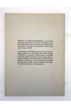 Contracubierta de AMARANTA SE FUE A BUSCAR EL MAR (Manuel Álvarez Fernández / Elena Luengo) Popular 1985
