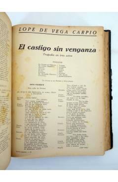 Muestra 2 de TEATRO SELECTO 1 A 79. COMPLETO EN UN TOMO. FOLLETÍN DE LA REVISTA ALGO (Vvaa) Algo s/f