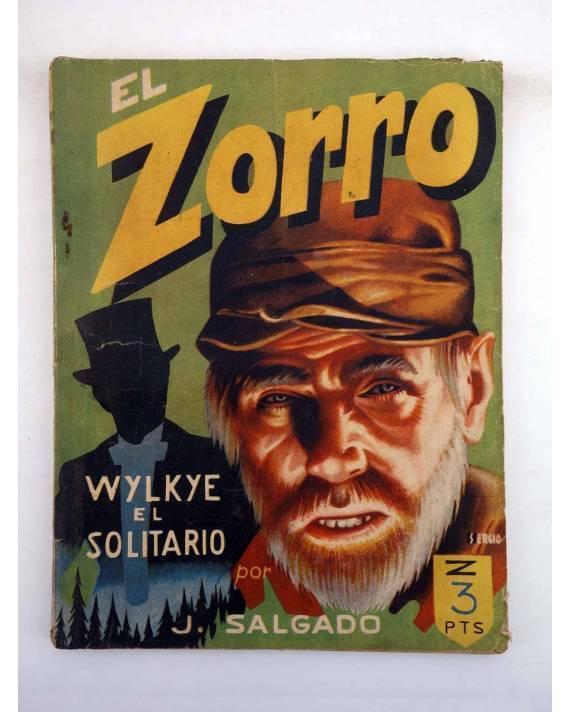 Cubierta de EL ZORRO 11. WYLKIE EL SOLITARIO (J. Salgado) Mateu 1940
