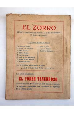 Muestra 1 de EL ZORRO 11. WYLKIE EL SOLITARIO (J. Salgado) Mateu 1940
