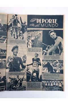 Muestra 2 de MARCA SEMANARIO GRÁFICO DE LOS DEPORTES 187. EL EQUIPO FEMENINO DE CASTILLA. 8 SEPT 1942 (Vvaa) Marca 1942