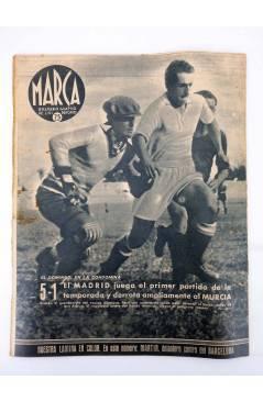 Muestra 3 de MARCA SEMANARIO GRÁFICO DE LOS DEPORTES 187. EL EQUIPO FEMENINO DE CASTILLA. 8 SEPT 1942 (Vvaa) Marca 1942