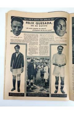 Muestra 2 de MARCA SEMANARIO GRÁFICO DE LOS DEPORTES 184. LOSTREGO GANA LA COPA DEL GENERALÍSIMO. 18 AGO 1942 (Vvaa) Mar