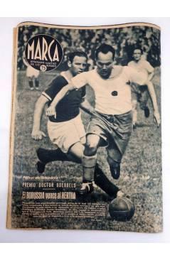 Muestra 3 de MARCA SEMANARIO GRÁFICO DE LOS DEPORTES 184. LOSTREGO GANA LA COPA DEL GENERALÍSIMO. 18 AGO 1942 (Vvaa) Mar